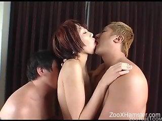 Insane animal xxx scenery with naked Asian whores