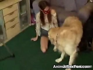 Dude gets cuckolded by his own favorite dog