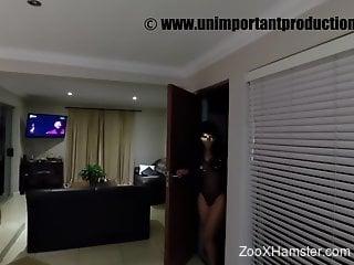 Black-skinned babe enjoying hardcore zoophile sex